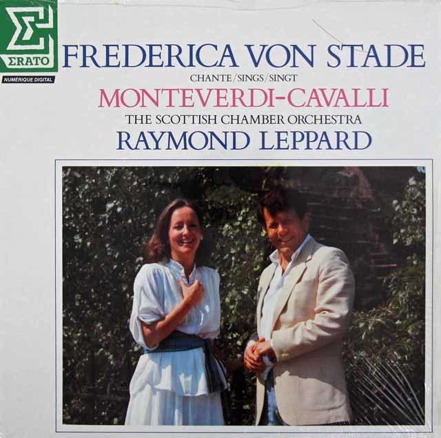 【未開封】 シュターデ&レッパードのモンテヴェルディ&カヴァッリ/歌曲集 仏ERATO 3142 LPレコード