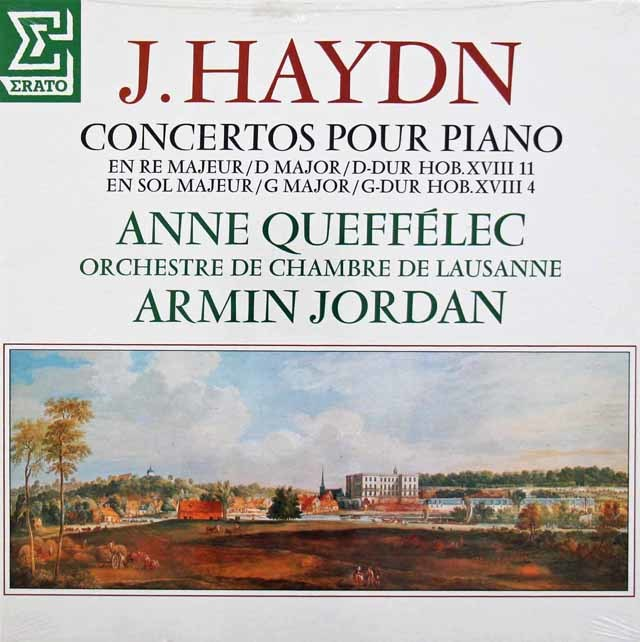 【未開封】 ケフェレック&A.ジョルダンのハイドン/ピアノ協奏曲集 仏ERATO 3142 LP レコード