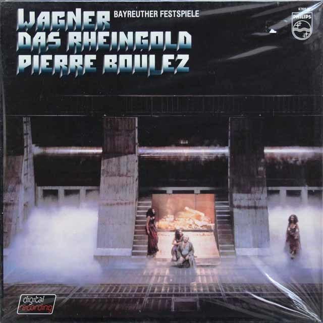 【未開封】 ブーレーズのワーグナー/「ラインの黄金」全曲 蘭?PHILIPS 3142 LP レコード