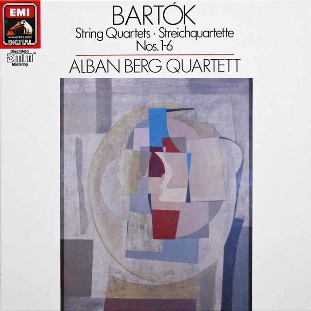 アルバン・ベルク四重奏団のバルトーク/弦楽四重奏曲全集 独EMI 3142 LP レコード