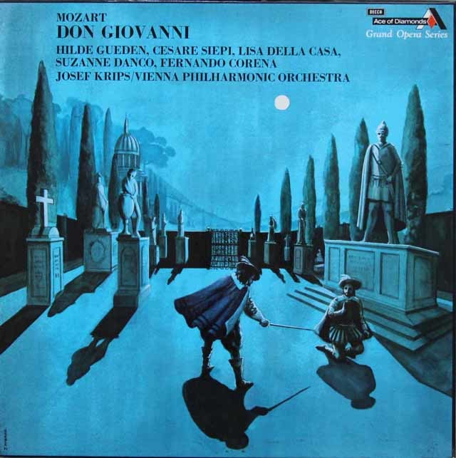 クリップスのモーツァルト/「ドン・ジョヴァンニ」全曲 英DECCA(Ace of Diamonds) 3142 LP レコード
