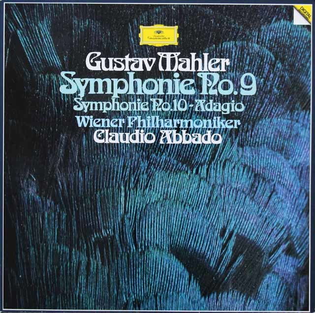 アバドのマーラー/交響曲第9&10番 独DGG 3143 LP レコード