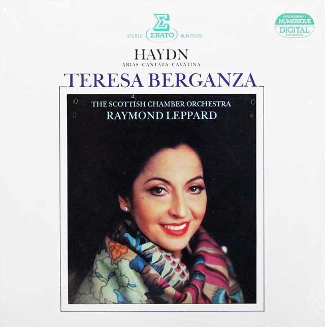 【未開封】ベルガンサのハイドン/「アリアとカヴァティーナ集」 仏ERATO 3143 LP レコード