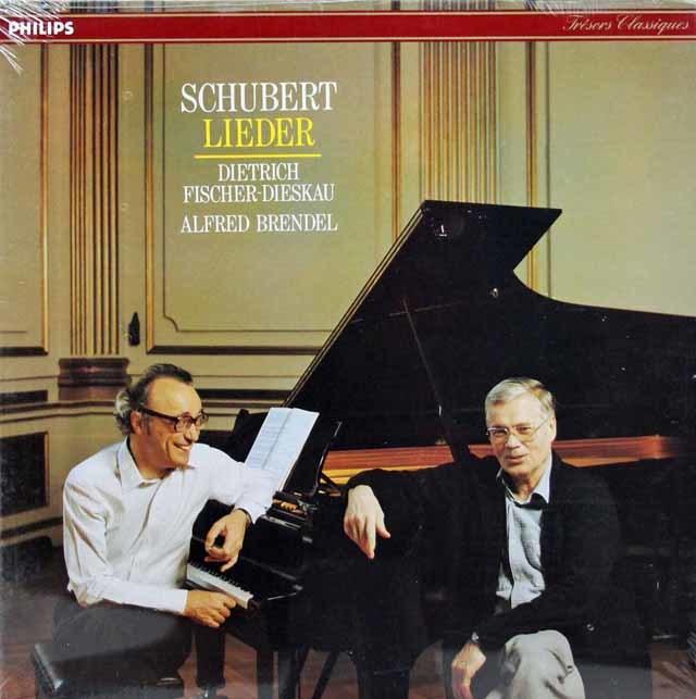 【未開封】F=ディースカウ&ブレンデルのシューベルト/歌曲集(「さすらい人」ほか) 仏PHILIPS 3143 LP レコード