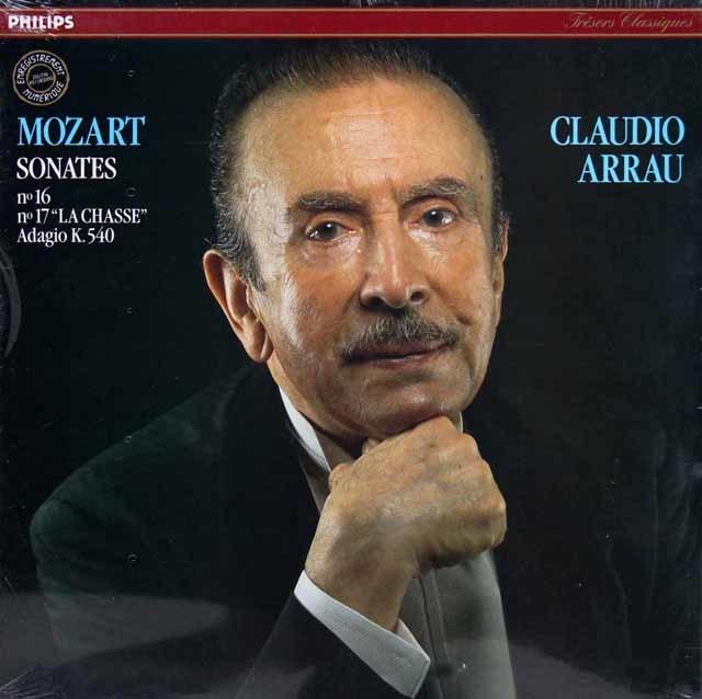 【未開封】アラウのモーツァルト/ピアノ・ソナタ 第16番ほか 仏PHILIPS 3143 LP レコード
