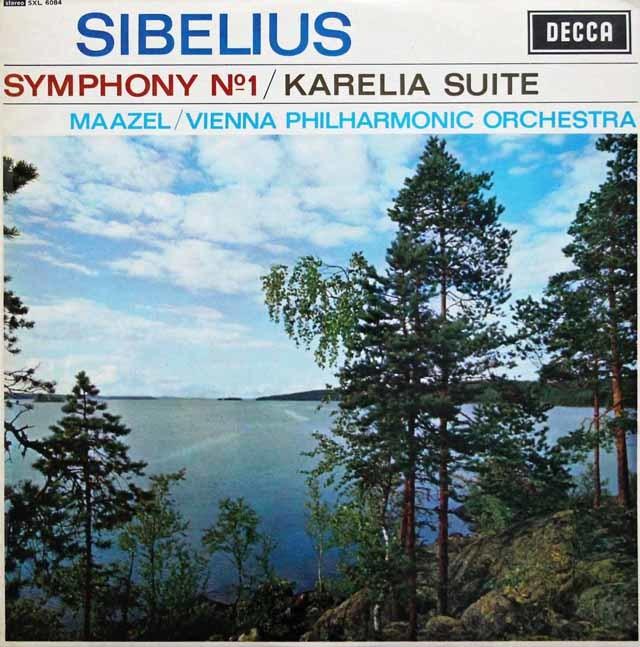 マゼールのシベリウス/交響曲第1番ほか 英DECCA 3143 LP レコード