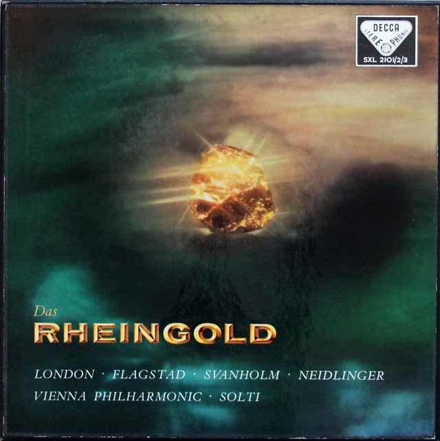 ショルティのワーグナー/「ラインの黄金」全曲 英DECCA 3143 LP レコード