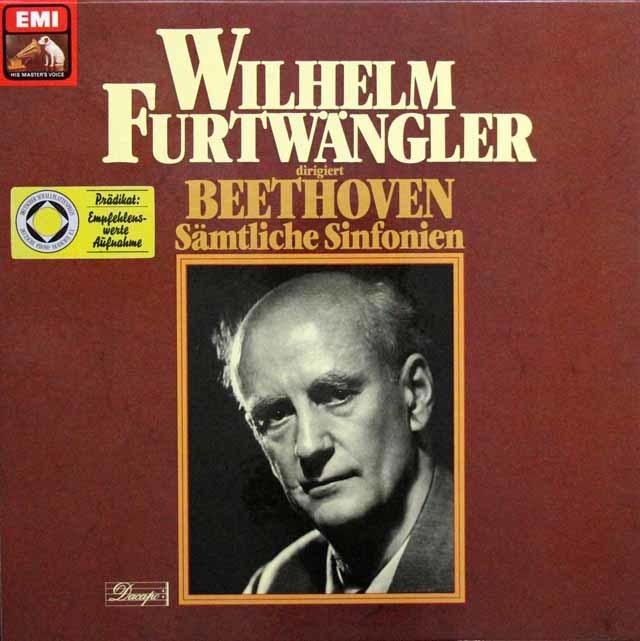 フルトヴェングラーのベートーヴェン/交響曲全集 独EMI 3143 LP レコード
