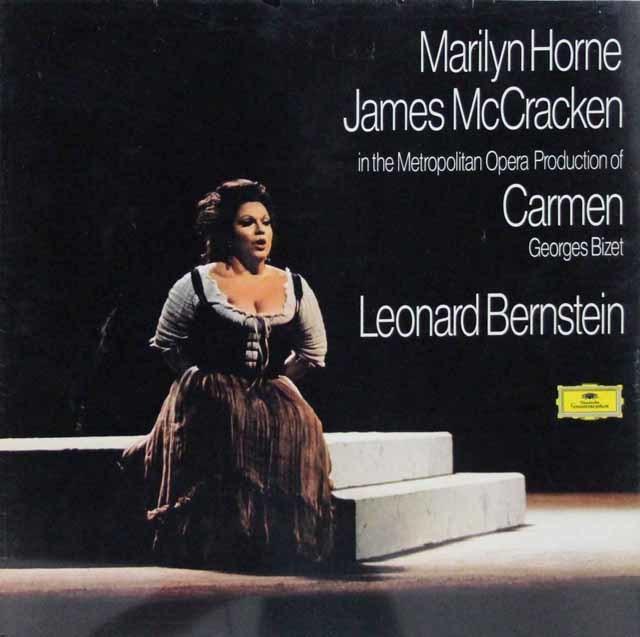 【未開封】バーンスタインのビゼー/「カルメン」全曲 独DGG 3143 LP レコード