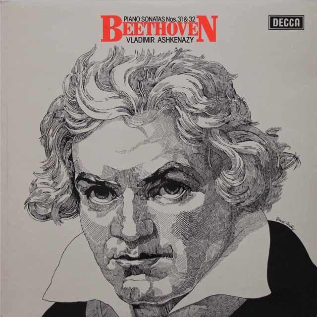 【オリジナル盤】 アシュケナージのベートーヴェン/ピアノソナタ第31&32番 英DECCA 3144 LP レコード