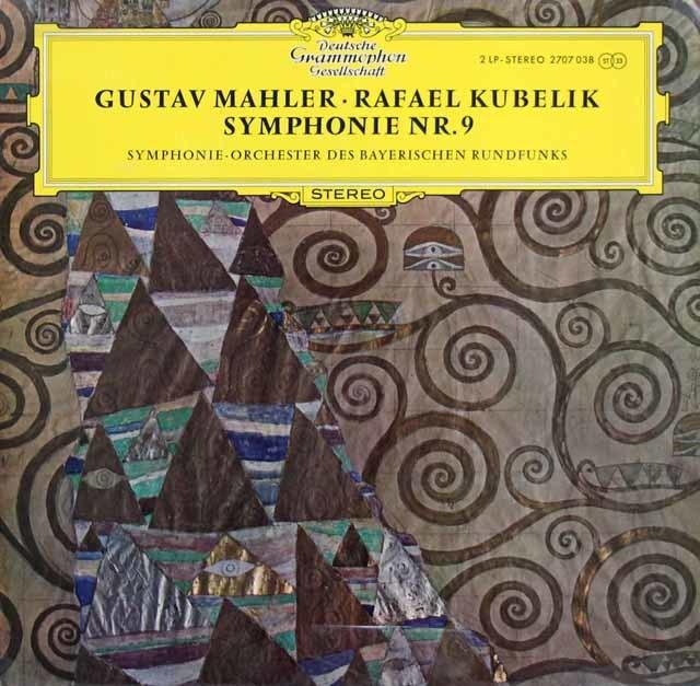 クーベリックのマーラー/交響曲第9番 独DGG 3144 LP レコード