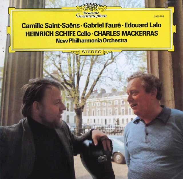 シフ&マッケラスのサン=サーンス/チェロ協奏曲第1番ほか 独DGG 3144 LP レコード