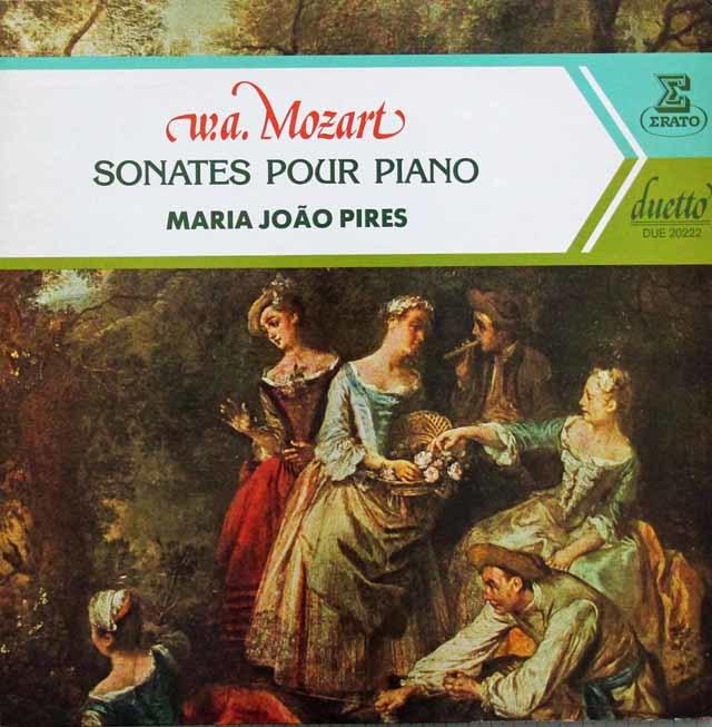 ピレシュのモーツァルト/ピアノソナタ集 仏ERATO 3144 LP レコード
