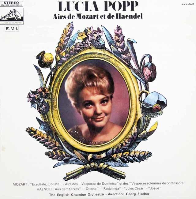 ポップのモーツァルト&ヘンデル歌曲集 仏EMI 3144 LP レコード