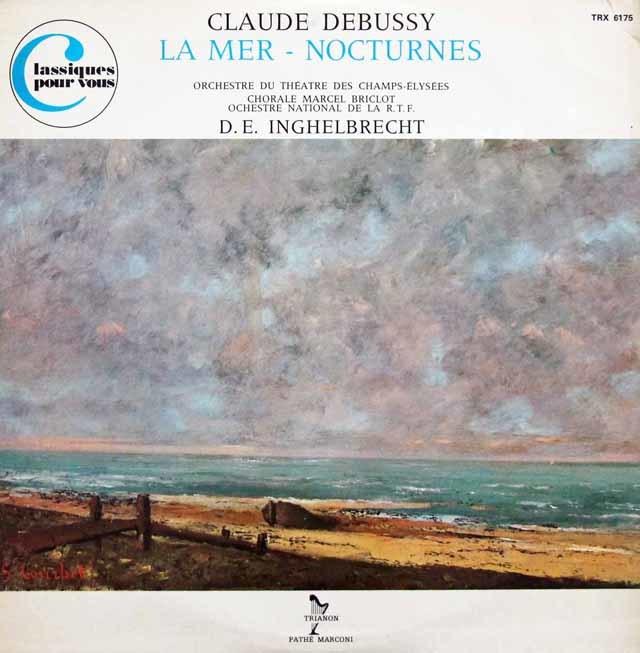 アンゲルブレシュトのドビュッシー/「海」&3つの夜想曲 仏TRIANON 3144 LP レコード
