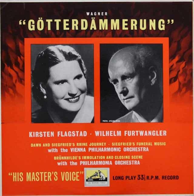 フルトヴェングラーのワーグナー/「神々の黄昏」より 英EMI 3144 LP レコード