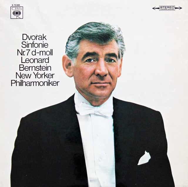 バーンスタインのドヴォルザーク/交響曲第7番 独CBS 3144 LP レコード
