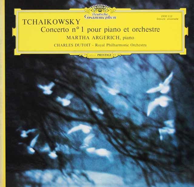アルゲリッチ&デュトワのチャイコフスキー/ピアノ協奏曲第1番 独DGG 3145 LP レコード
