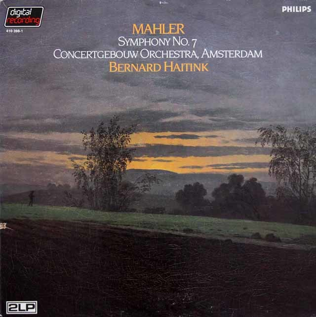 ハイティンクのマーラー/交響曲第7番 蘭PHILIPS 3145 LP レコード