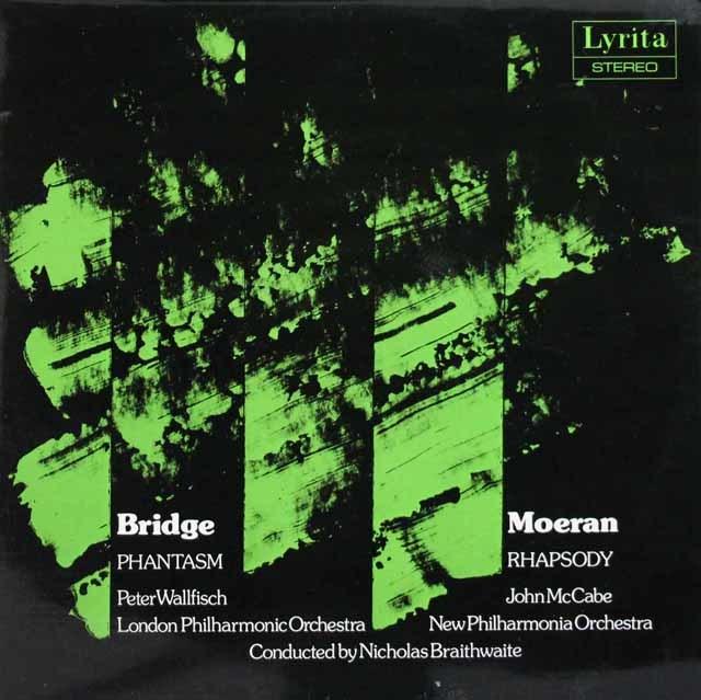 ウォルフィッシュのブリッジ/「ファンタズム」ほか 英Lyrita 3145 LP レコード