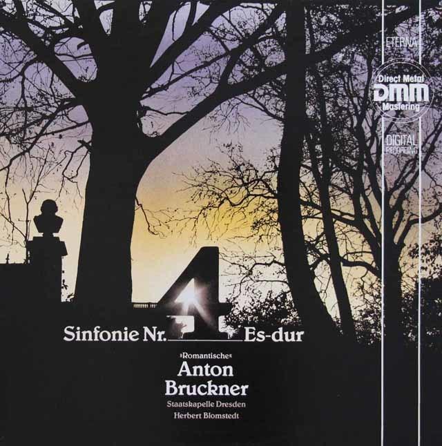 ブロムシュテットのブルックナー/交響曲第4番「ロマンティック」 独ETERNA 3145 LP レコード