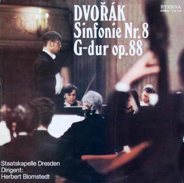 ブロムシュテットのドヴォルザーク/交響曲第8番 独ETERNA 3145 LP レコード