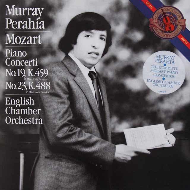 ペライアのモーツァルト/ピアノ協奏曲第19 & 23番 蘭CBS 3145 LP レコード
