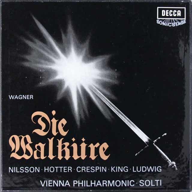 ショルティのワーグナー/「ワルキューレ」全曲 英DECCA 3145 LP レコード