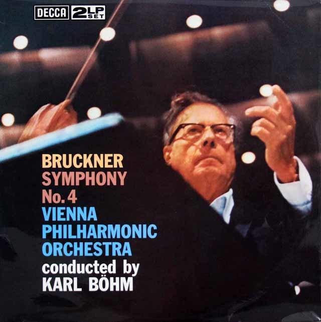 【オリジナル盤】 ベームのブルックナー/交響曲第4番「ロマンティック」 英DECCA 3146 LP レコード