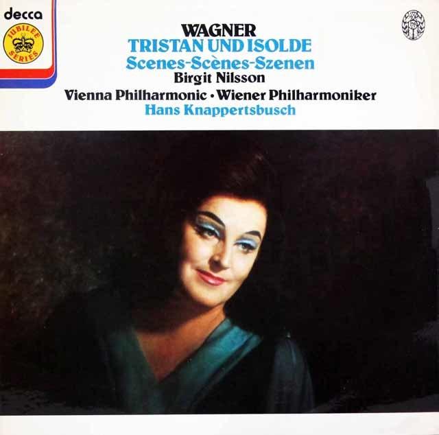 ニルソン&クナッパーツブッシュのワーグナー/「トリスタンとイゾルデ」より 英DECCA 3146 LP レコード