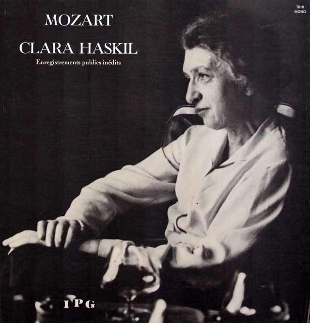 ハスキル&シューリヒトのモーツァルト/ピアノ協奏曲第9&19番 仏IPG 3146 LP レコード