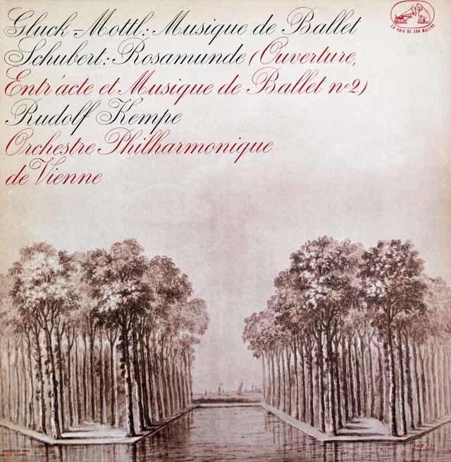 ケンペのシューベルト/「ロザムンデ」ほか 仏EMI(VSM) 3146 LP レコード
