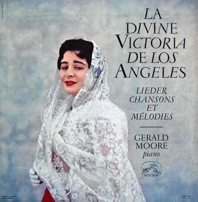 アンヘレスの歌曲とメロディー 仏EMI(VSM) 3146 LP レコード