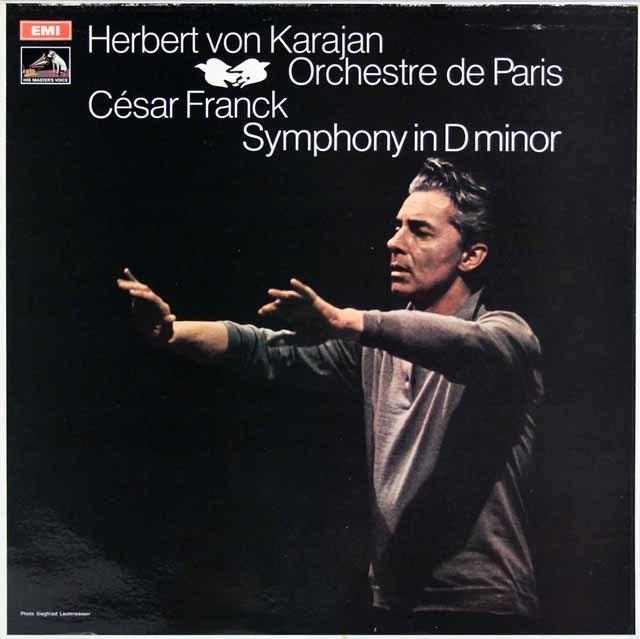 カラヤンのフランク/交響曲ニ短調 英EMI 3146 LP レコード