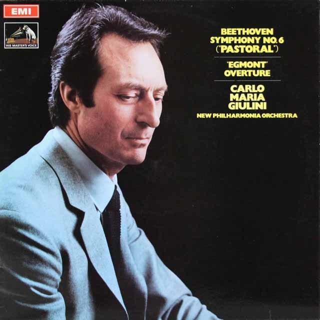 ジュリーニのベートーヴェン/交響曲第6番「田園」ほか 英EMI 3146 LP レコード