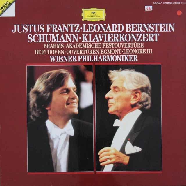 フランツ&バーンスタインのシューマン/ピアノ協奏曲イ短調ほか 独DGG 3146 LP レコード