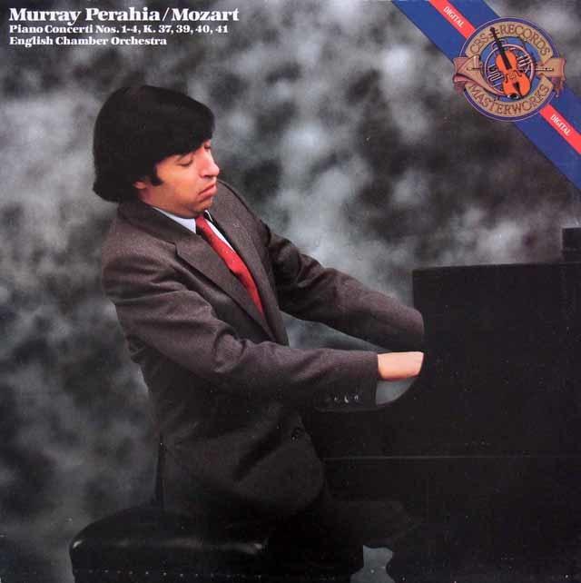 ペライアのモーツァルト/ピアノ協奏曲第1~4番 蘭CBS 3146 LP レコード