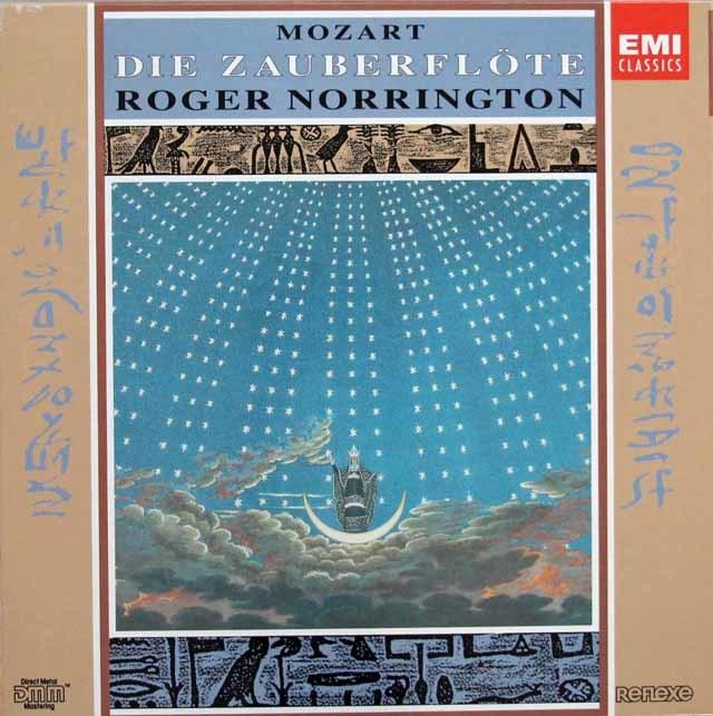 ノリントンのモーツァルト/「魔笛」全曲 独EMI 3146 LP レコード