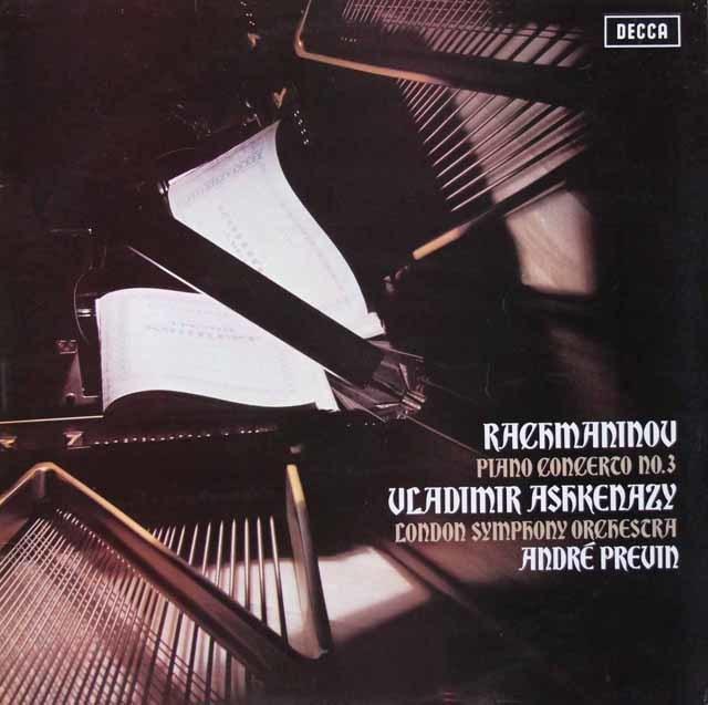 【オリジナル盤】アシュケナージ&プレヴィンのラフマニノフ/ピアノ協奏曲第3番 英DECCA 3147 LP レコード