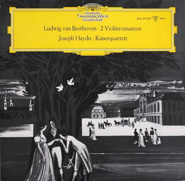 ケッケルト & ライトナーのベートーヴェン/「ロマンス」ほか 独DGG 3147 LP レコード