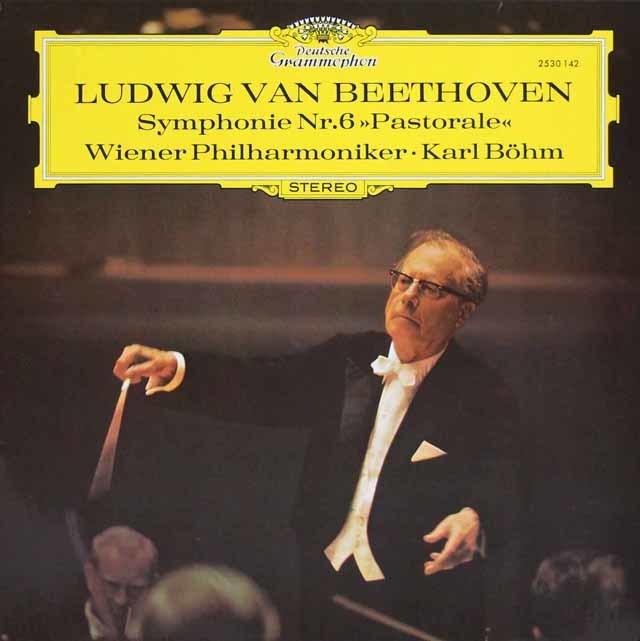 ベームのベートーヴェン/交響曲第6番「田園」 独DGG 3147 LP レコード