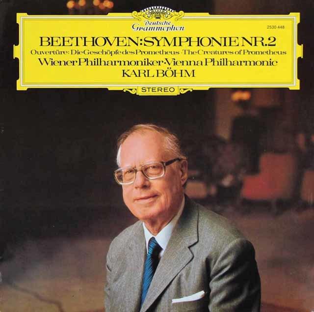ベームのベートーヴェン/交響曲第2番ほか 独DGG 3147 LP レコード