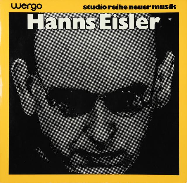 ハンス・アイスラー作品集 独Wergo 2899 LP レコード