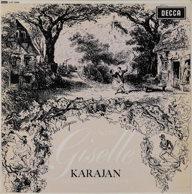 カラヤンのアダム/「ジゼル」 英DECCA 2899 LP レコード