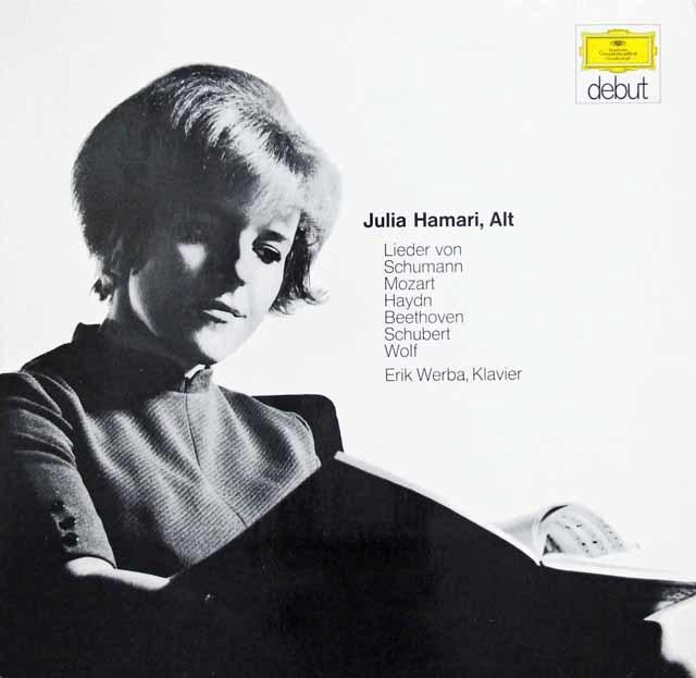 ハマリのシューマン/「女の愛と生涯」ほか 独DGG 3201 LP レコード