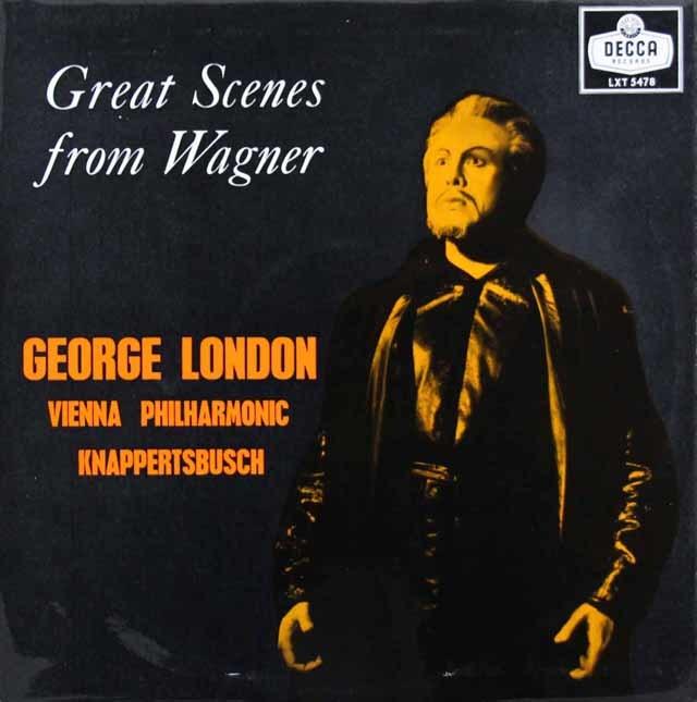 クナッパーツブッシュ&ロンドンの「ワーグナー名演集」 英DECCA 3201 LP レコード