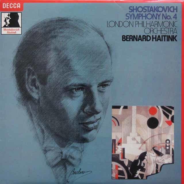 【オリジナル盤】ハイティンクのショスタコーヴィチ/交響曲第4番 英DECCA 3201 LP レコード