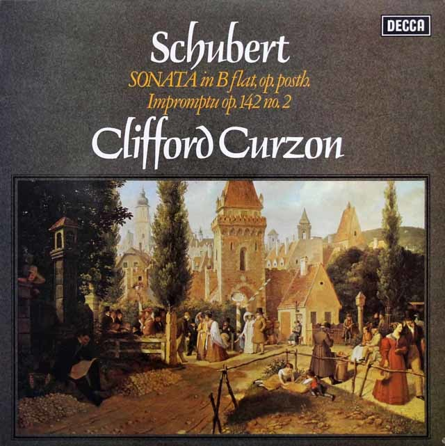 【オリジナル盤】カーゾンのシューベルト/ピアノソナタ変ロ長調ほか 英DECCA 3201レコード