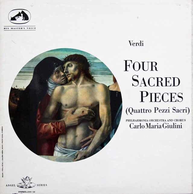 ジュリーニのヴェルディ/聖歌四篇 英EMI 3201 LP レコード