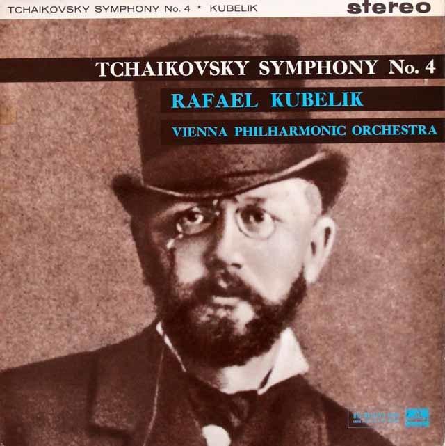 【オリジナル盤】 クーベリックのチャイコフスキー/交響曲第4番 英EMI 3201 LP レコード